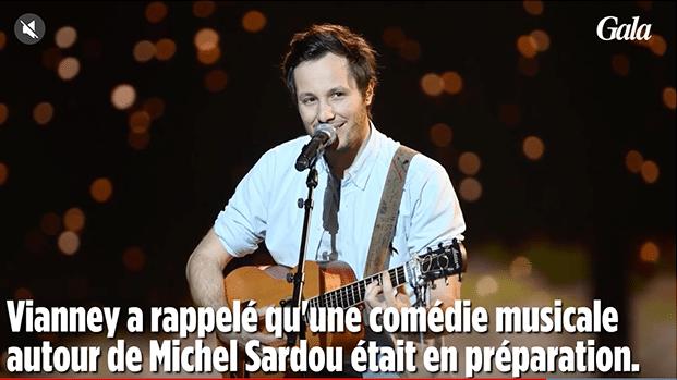 Vianney : « Sardou, quel interprète ! »