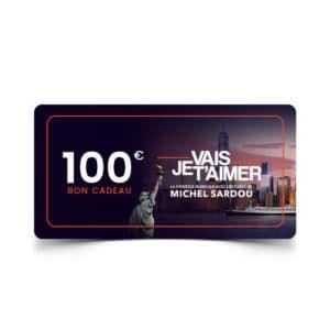 Bon cadeau de 100 euros - Spectacle Je vais t'aimer